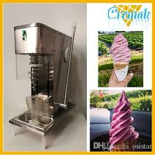 Self Serve Ice Vending Machines Magnificent 48 Swirl Freeze Fruit Ice Cream Blending Machine Italian Yogurt