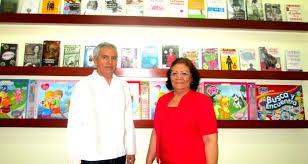 Gaudencio Cuestas y su esposa Patricia Jiménez, fundadores de Librerías El Bachiller, negocio fundado en 1990 y que cuenta con 24 años ofreciendo sus ... - 19-620x330