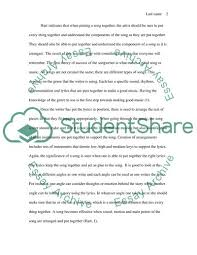 Music Personal Statement Consolation In Music Personal Statement Example Topics And