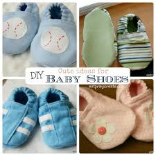 diy baby shoes