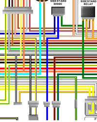 suzuki gsf bandit k k uk spec colour wiring loom diagram suzuki gsf1200 bandit k1 k2 uk spec colour wiring diagram