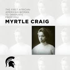 """MSU on Twitter: """"Myrtle Craig, the first African-American woman to graduate  from MSU, received her diploma from President Roosevelt in 1907.  #BlackHistoryMonth… https://t.co/GsLm2VWjOS"""""""