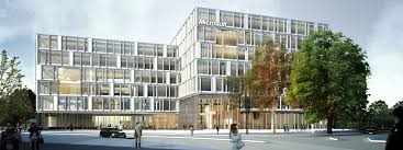 microsoft office building. Microsoft Offices In Denmark Fitted With Intelligent Building System To Save Energy Office