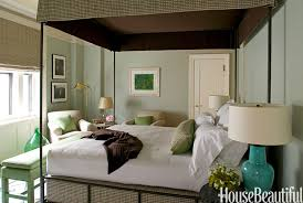 benjamin moore colour of the year guilford green as seen on bedroom walls -  Kylie M
