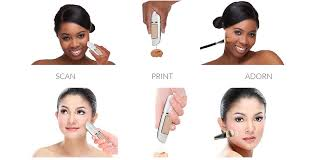 adorn 3d makeup printing pen promises to exactly match your skin tone