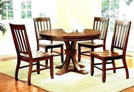 medium size of small round glass dining table 2 chairs black and 4 room rustic wood