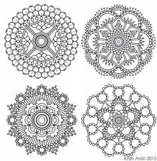 Small Picture 364 best MandalasRangoliIslamic Patterns images on