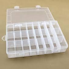 24 съемных пластиковых ящика для <b>хранения</b>, прозрачный ...