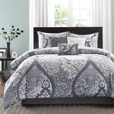 madison park vienna 7 piece cotton printed comforter
