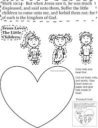 Pin By Ruth Penland On Sunday School Kids In Jesus Loves The Little