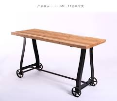 iron industrial furniture. Foreign Industrial Style Iron Wood Furniture US French Country Table  Structure Side Tables Console
