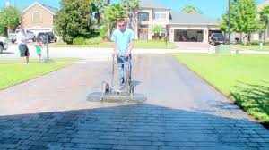 power wash driveway cost. Interesting Driveway Pressure Washing A 1500 Sq Ft Paver Driveway In 7 Minutes By Dan Swede Inside Power Wash Driveway Cost