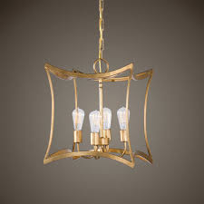 uttermost dore gold four light lantern pendant hover to zoom 79622074 1 hover to zoom
