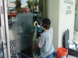 los angeles window green cleaning glass graffiti scratch removal scratched glass repair polishing graffiti removal services from glass acid graffiti