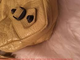 whole handbags balenciaga mirror yellow leather cross bag fake balenciaga hoo