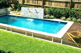 above ground pools perth. Unique Ground Above Ground Plunge Pool Interesting Pools Perth In
