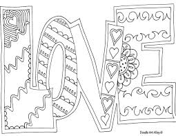 Small Picture love coloring page Coloring Pinterest Adult coloring