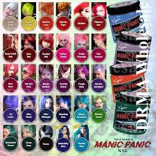 Manic Panic Classic Semi Permanent Vegan Hair Dye Color All