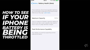 I explain iphone battery health and go over maximum battery capacity. How To Turn Off Battery Throttling On Your Iphone Techrepublic