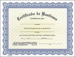 Certificado De Bautismo Template Certificados De Bautizmo Cristianos Imagui