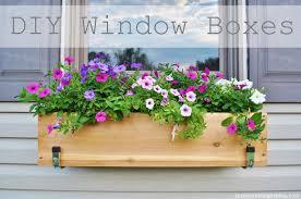 Diy Window Boxes Jessicandesigns Diy Window Flower Boxes