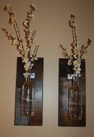 All add a new dimension to your d'cor. Wine Bottle Wall Decor Paulbabbitt Com