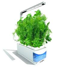 indoor hydroponic herb garden kit lamp desk for reading smart fresh led hydroponics growing canada herb growing kit
