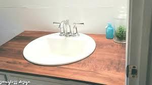 wood countertop ideas build wood bathroom upgrade budget wooden ideas wood countertop ideas
