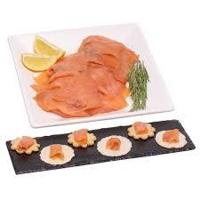 400g sliced smoked scottish salmon