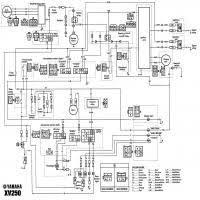 xv250 wiring diagram xv250 wiring diagrams diagrama yamaha xv250