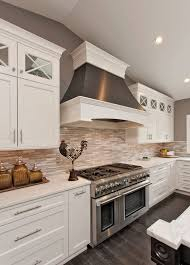 ... White Kitchen Cabinets Project For Awesome White Cabinet Kitchens Design  ...