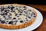blueberry buttermilk tart