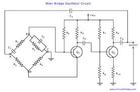circuit diagram of oscillator the wiring diagram wien bridge oscillator electronic circuits and diagram circuit diagram