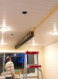 faux wood beams for ceiling great ideas upgrade the diy