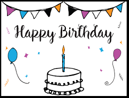 Free Downloadable Birthday Cards Free Template Birthday Card Rome Fontanacountryinn Com