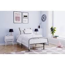 Mainstays Metal Platform Bed FrameFoundation Black Multiple Sizes