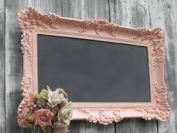 SHABBY CHIC WEDDING Decor Chalkboard X Large Framed Wedding Black Board  Turquiose Wedding Robins Egg Blue 44