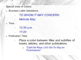 Chapter 15 Semicolons And Colons Ppt Video Online Download