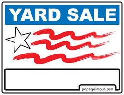 Yard Sale Signs Download A Free Printable Sign Garage Sale