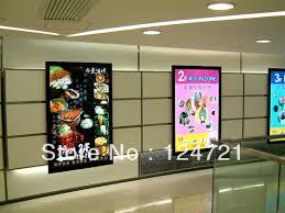 Led Light Box Display Stand Slim aluminum frame LED Lightboxadvertise stand displayin LED 32