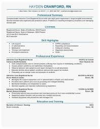 Best Nurse Resume 66 Good Ideas Of Registered Nurse Resume Best Of Resume