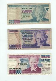 Republik türkei, türkische republik nordzypern unterteilung: Alte Turkische Geldscheine 1 Million Turkische Lira In Leipzig Mitte Ebay Kleinanzeigen