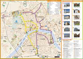 pisa tourist attractions map