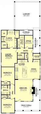 home plans lakefront house narrow lot for long lots 13 small rear designs cottage single y