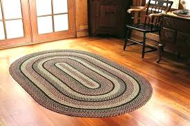 small throw rugs braided oval decoration multi coloured woven rug handmade for kitchen round area round throw rug