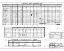 Скачать бесплатно дипломный проект ПГС Диплом №  12 Календарный график производства работ jpg