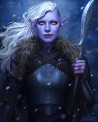 Pin by Ivan Lowe on Rpg | Half drow, Character art, Dungeons and dragons  characters