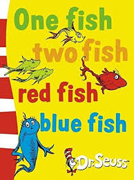 one fish two fish red fish blue fish dr seuss board books
