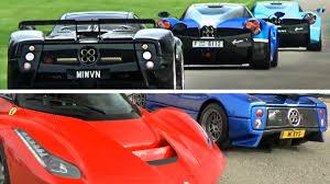 The Best Supercar Show Line Up Ever Youtube
