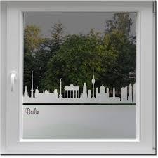 Fensterfolie Berlin Milchglasfolie Wecke Design